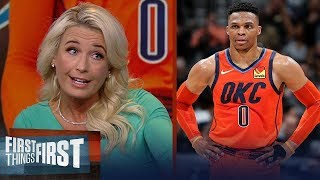 Is Russell Westbrook underappreciated? Sarah Kustok weighs in | NBA | FIRST THINGS FIRST
