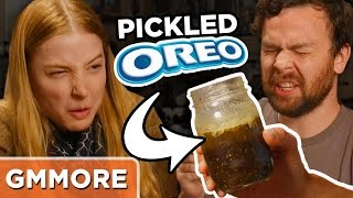 Pickled Oreo Taste Test