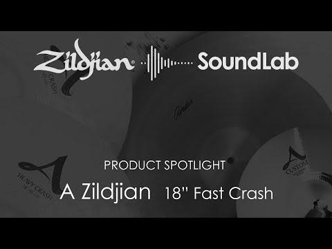 """18"""" A Zildjian Fast Crash - A0268"""