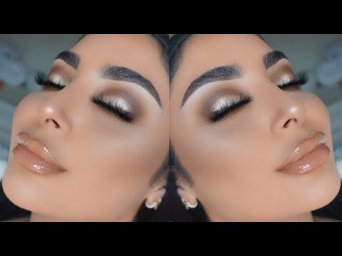 BROWN & GOLD SMOKEY EYE I Nina Vee