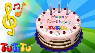 TuTiTu Songs | Happy Birthday Song Ver. 1 | Songs for Children with Lyrics