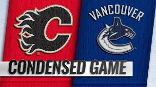09/19/18 Condensed Game: Flames @ Canucks