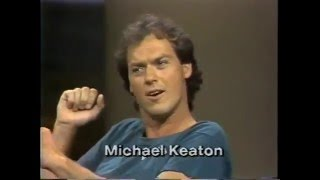 Michael Keaton on Late Night, 1982-83