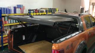 Carryboy GMX-R hard tonneau cover for Ford Ranger Wildtrak