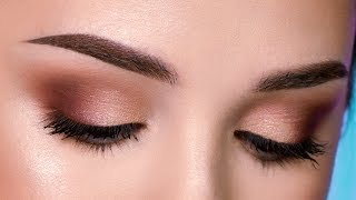 Easy & Affordable Everyday Makeup Look | Simple Smokey Eye for Beginners