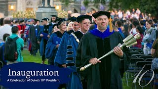 Sights and Sounds of Duke's 10th Presidential Inauguration video