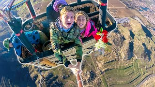DONT LOOK DOWN!! (SCARY VALENTINES DATE WITH CARTER SHARER)