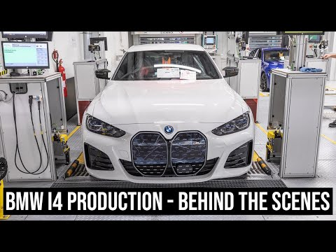 This is how the BMW i4 is built at Plant Munich