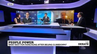 People power: What next for Hong Kong after Beijing climbdown?