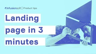 How to Build a Landing Page in 3 Minutes