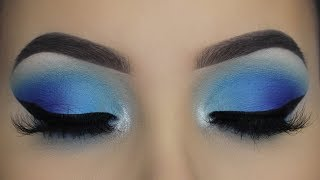 JEFFREE STAR BLUE BLOOD PALETTE MAKEUP TUTORIAL