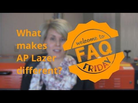 FAQ: What make AP Lazer different?