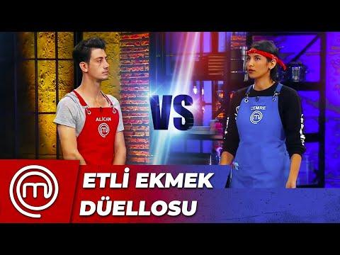 Cemre vs Alican-Etli Ekmek Düellosu | MasterChef Türkiye