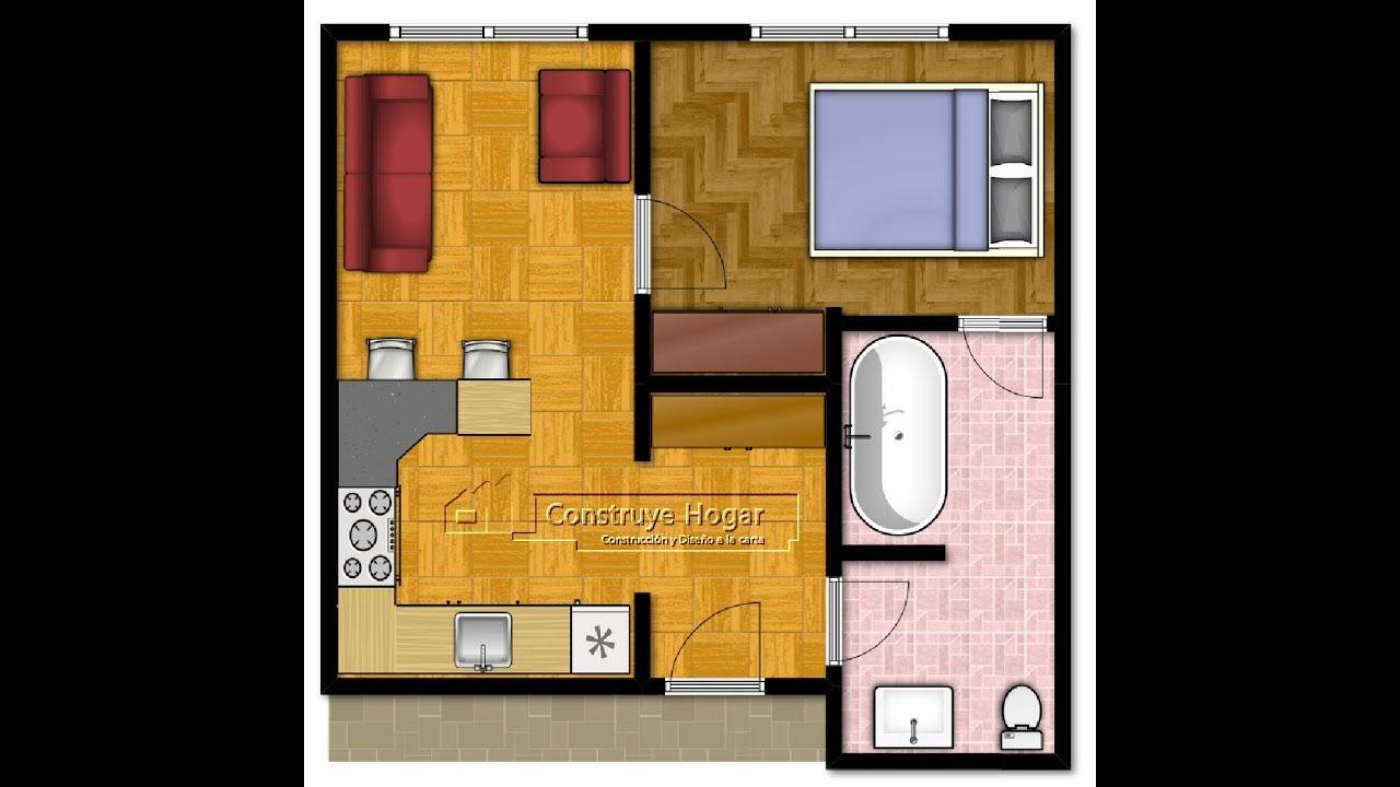 Como dise ar un departamento hacer los planos y dise o for Diseno de apartamento de una habitacion