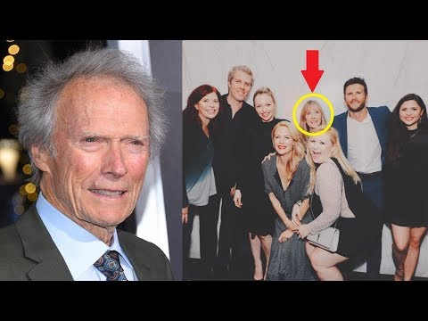 Following Years Of Rumors, Clint Eastwood Finally Appeared In Public With His Secret Child