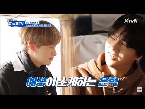 YeHyuk (Yesung Eunhyuk) at super tv part 2