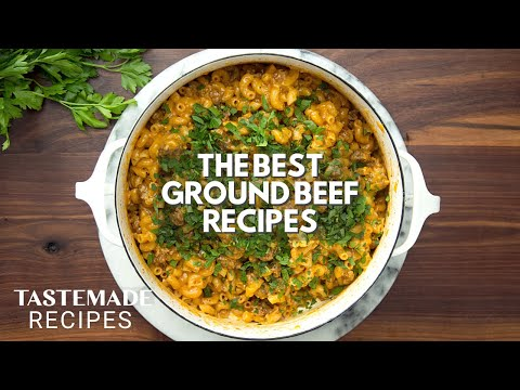3 Quick & Easy Ground Beef Recipes   Tastemade