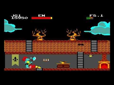 Chapolim X Drácula: Um Duelo Assustador SEGA Master System