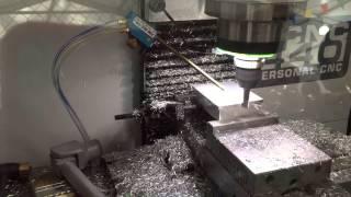 Tormach 440 cutting aluminum
