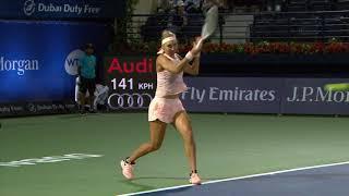 Highlights: WTA QFs - Kasatkina d. Vesnina