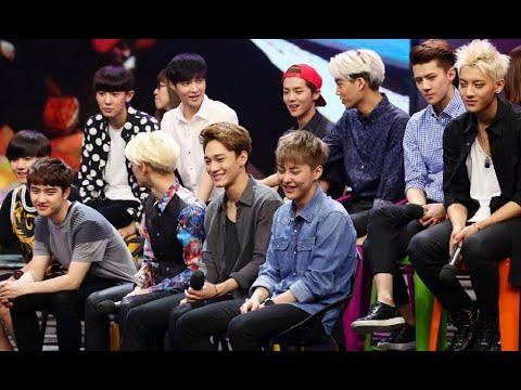快乐大本营 Happy Camp: EXO 11人绝版同台-EXO 11 Members Rare On Stage Appearance【湖南卫视官方版1080P】 20141025