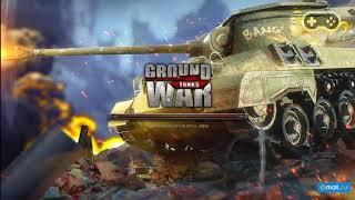 Геймплей онлайн игры Ground War: Tanks (Танки)