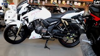 New Apache RTR 160 Race Edition V2 BS4 2018 Full Review, Looks