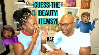 Meet My Boyfriend ❤️   FUN Holiday Unboxing   BAE Guesses My Beauty Stuff