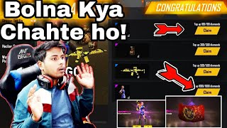 DRAGON TOP UP 🔥 And New Food Challenge Event ||A small reply😂Free Fire 2020 [Hindi]