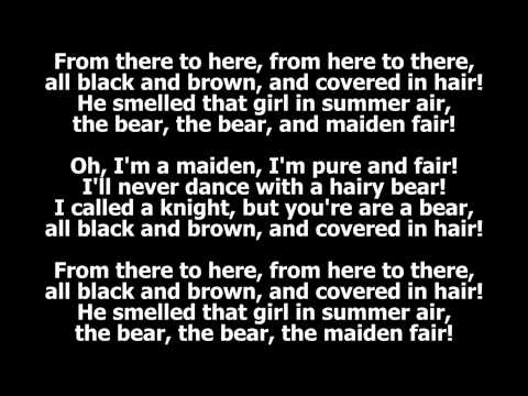 Baixar The Bear and the Maiden Fair (with lyrics) by Hold Steady (Game of Thrones, Season 3, Episode 3)