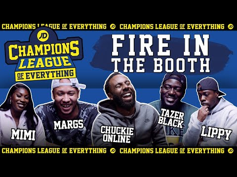 jdsports.co.uk & JD Sports Discount Code video: WHO HAS THE GREATEST EVER FIRE IN THE BOOTH????!?!?!?!   CHAMPIONS LEAGUE OF EVERYTHING