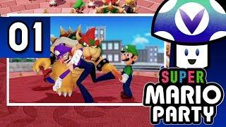 [Vinesauce] Vinny - Super Mario Party (part 1)