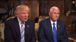 Watch Donald Trump and Mike Pence Clash In Awkward Joint Interview