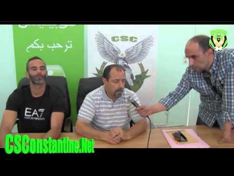 Si Mohamed Cédric rempile au CSC: Déclaration Omar Bentobal