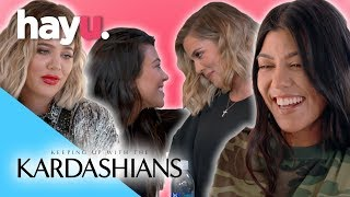 Khloé & Kourtney's Funniest Moments | Keeping Up With The Kardashians