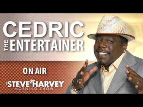 Cedric the Entertainer Live interview on the Steve Harvey Morning Show