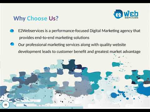 About E2webservices - Top Digital Marketing Agency in India