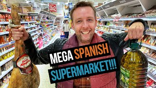 Exploring a MASSIVE Spanish Supermarket