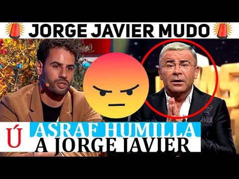 El brutal zasca de Asraf a Jorge Javier que le dejó sin palabras ¡Flipan hasta los colaboradores!