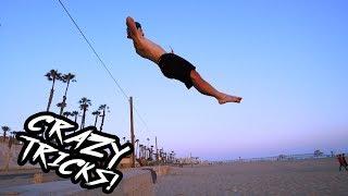Insane Tricks on the Beach in California