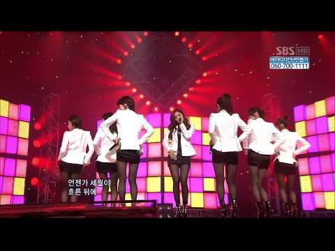 17.01.2010 [1nkigayo] SeeYa, Davichi, T-ARA: Wonder Woman