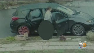 Caught On Camera: Woman Defecates In Front Of Eagle Rock Home Before Driving Away