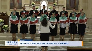Festival-concurs de colinde la Torino