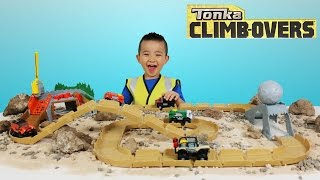 Tonka Climb-Overs Ripsaw Summit and Boulder Escape Playsets Garbage Truck Jeep Ckn Toys