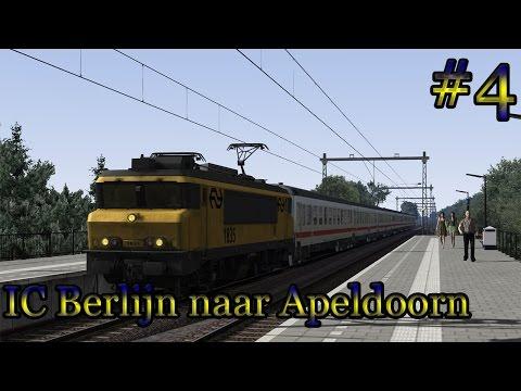 Naar Apeldoorn met de 1800 (IC Berlijn) - Train Simulator 2017 (Livestream #4)