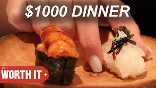 WHAT DOES A $1000 DINNER LOOK LIKE??💰💵