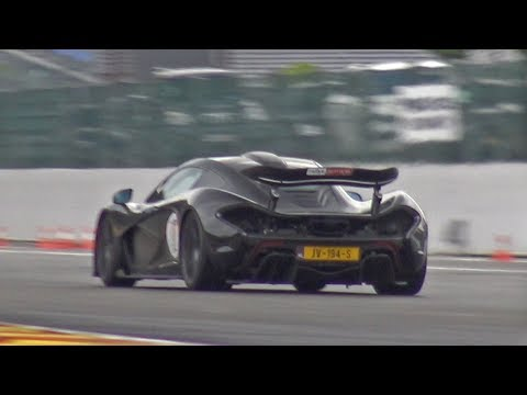 McLaren P1 – Exhaust Sounds!