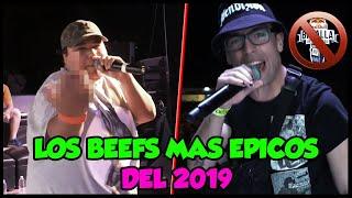 Los MEJORES BEEFS de lo que va del AÑO 2019 | Batallas De Rap