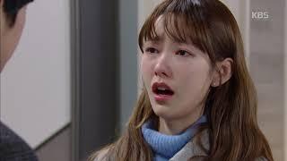"""하나뿐인 내편 - 박성훈, 나혜미 에게 """"우리 가족 평온을 찾을수 있게 도와줄래?"""".20190216"""