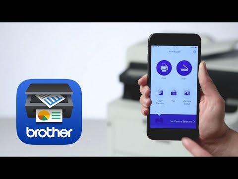 Brother iPrint&Scan – Gescannte Dokumente bearbeiten